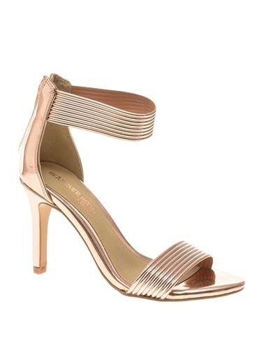 Dune Dune 30264482 Ince Topuklu Ik   Kadın Topuklu Ayakkabı Pembe